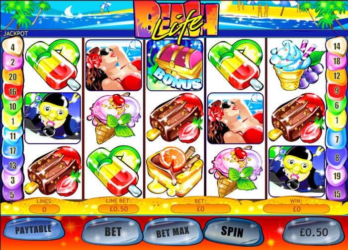 Play Beach Life Online Slots at Casino.com UK