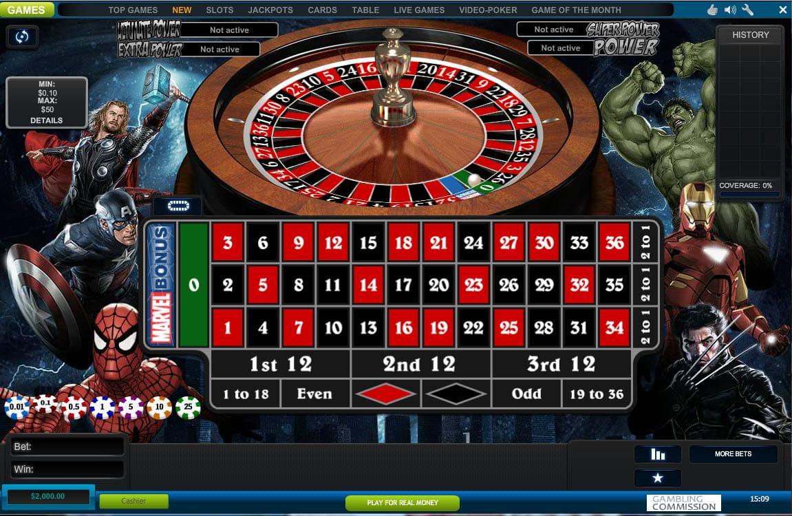 William Hill Casino Club Roulette